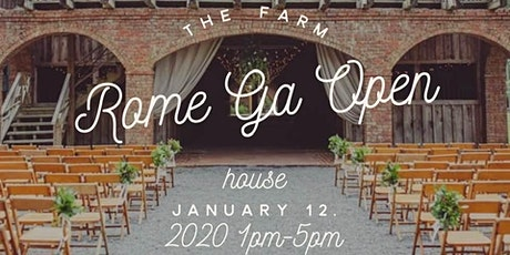 The Farm Rome Ga 2020 Open House tickets