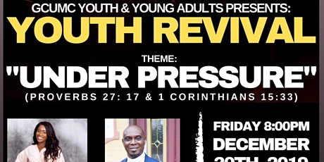 GCUMC YOUTH/YOUNG ADULTS REVIVAL tickets