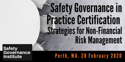 Safety Governance in Practice Certification (Perth)