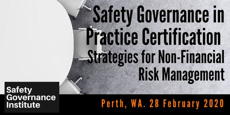 Safety Governance in Practice Certification (Perth) tickets