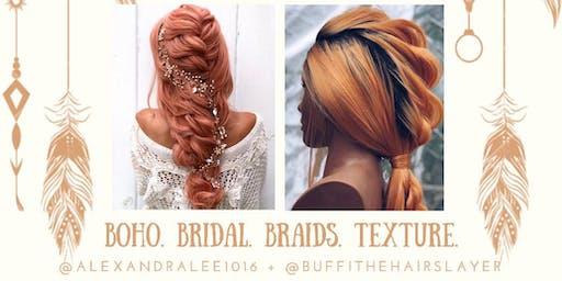 BRIDAL, BOHO & BRAIDS
