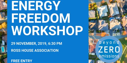 Energy Freedom Workshop (Melbourne, CBD)