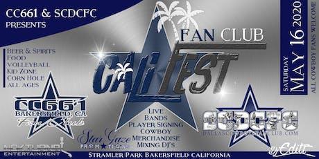 """Cowboys Fan Club """"Cali-Fest"""" tickets"""
