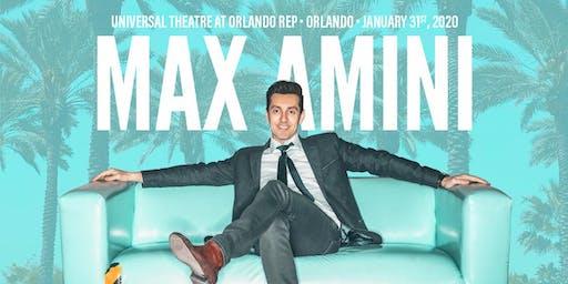 Max Amini Live in Orlando - 2020 World-Tour