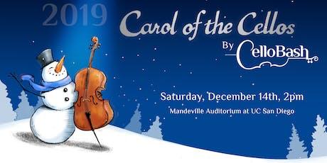 Carol of the Cellos tickets