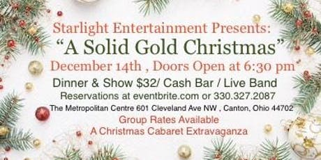 A Solid Gold Christmas tickets