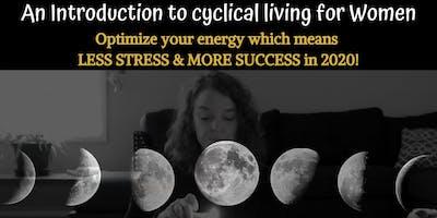 New Moon Sisterhood Ritual Gathering:An Intro to Cyclical Living