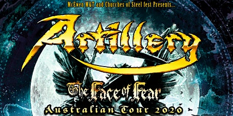 Artillery - The Face of Fear – Melbourne tickets