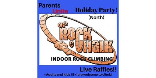 Parents Unite Holiday Rock Climbing Party
