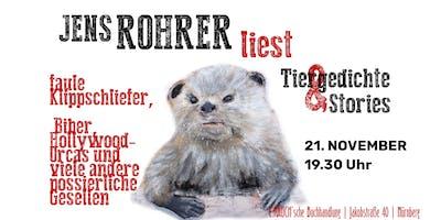 Jens Rohrer liest »Albert Hammonds Otter« & Stor