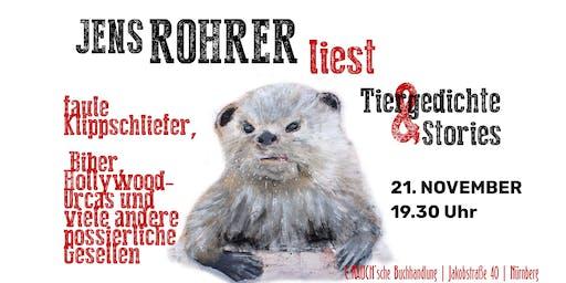 Jens Rohrer liest »Albert Hammonds Otter« & Stories