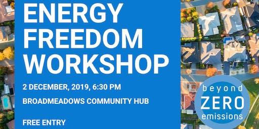 Energy Freedom Workshop (Broadmeadows)