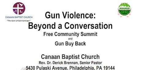 Gun Violence: Beyond a Conversation tickets