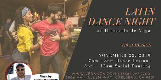 Latin Dance Night at Hacienda de Vega