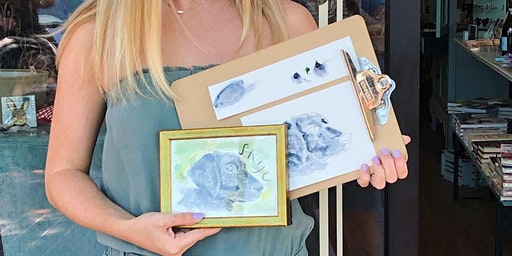 PAINTING & PROSECCO: PET PORTRAITS