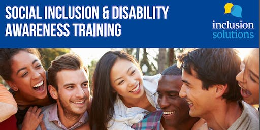 Social Inclusion and Disability Awareness Training