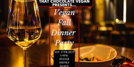 Vegan Fall Dinner Party