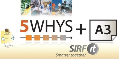 SA - 5 Whys / A3 Practical Problem Solving 1 day | RCARt tickets