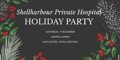 Shellharbour Private Hospital Holiday Party