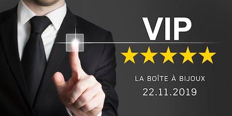 Lancement VIP de La boîte à Bijoux tickets