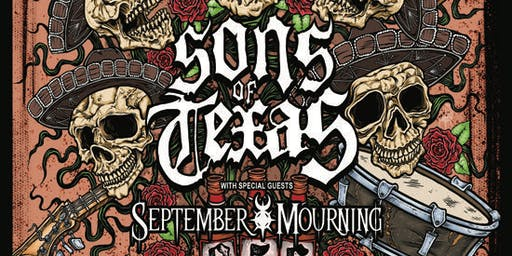 SONS OF TEXAS_SEPTEMBER MOURNING_SlingFist_Bound By Years_Burnt By Witches