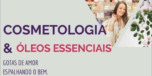 Cosmetologia & Óleos Essenciais - oficina prática