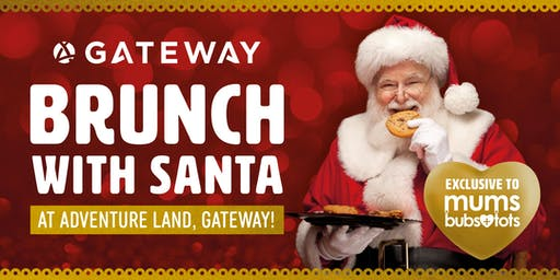 Mums + Bubs + Tots Brunch with Santa!
