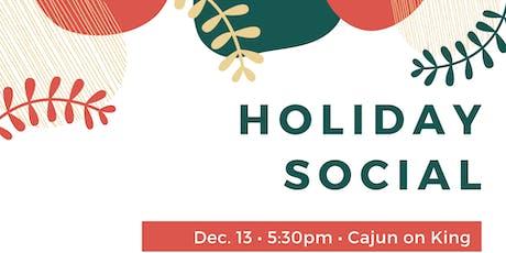 Holiday Social tickets
