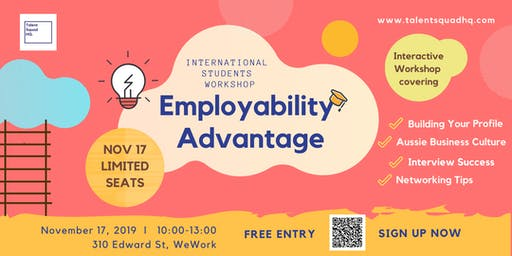 Employability Advantage - International Students Workshop