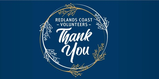 Redlands Coast Volunteers Thank You