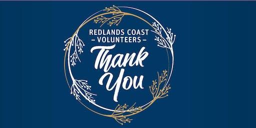 Redlands Coast Volunteers Thank You