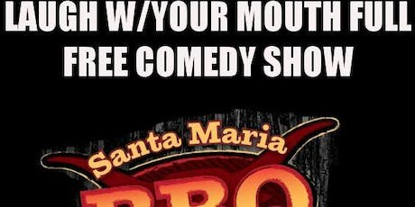 Laugh with Your Mouth Full, Free standup comedy Night Nov 23rd tickets