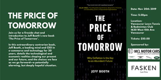 The Price of Tomorrow, a fireside chat with Jeff Booth