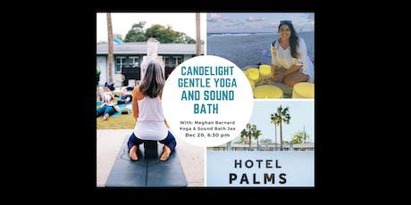 Candlelight gentle meditative yoga & sound bath with Sound Bath Jax tickets