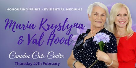 An Evening with Val and Maria Krystyna - Evidential Mediums (Camden) tickets