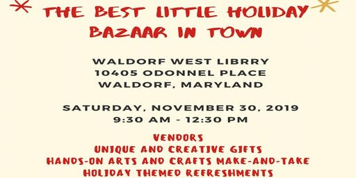 The Best Little Holiday Bazaar in Town