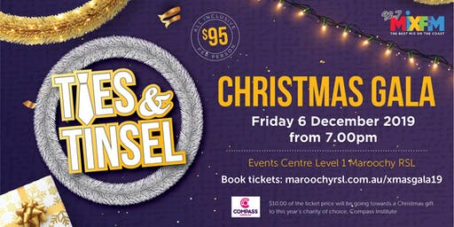 Ties & Tinsel - Christmas Gala Dinner for Compass Assistance Dogs