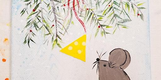 12/12 $22 Christmas Mouse @ Paint Like ME!