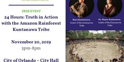 24Hrs:Truth in Action with the Amazon Rainforest Kuntanawa Tribe