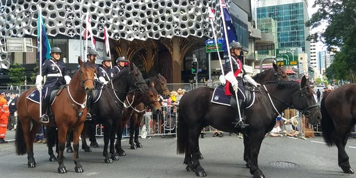 2020 Anzac Day Parade Brisbane