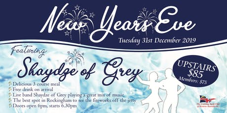 New Years Eve with Shaydze of Grey tickets