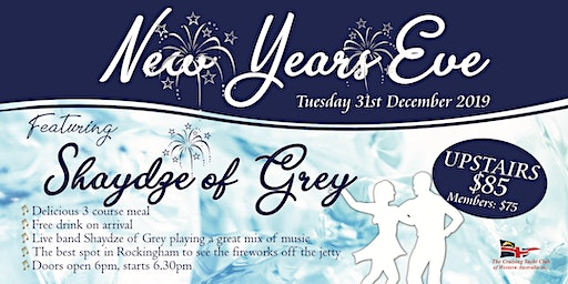 New Years Eve with Shaydze of Grey