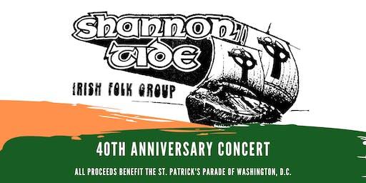 Shannon Tide 40th Anniversary Concert