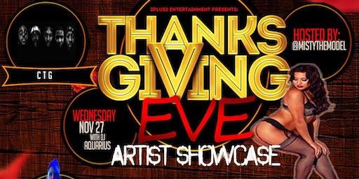 Thanksgiving Eve Artist Showcase
