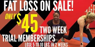 2- Week Trial Membership at Bolingbrook (Chicagoland Fat Loss Camps)