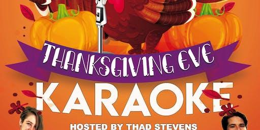Thanksgiving Eve Karaoke at MSR