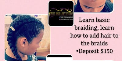 Beginners Hair Braiding Class