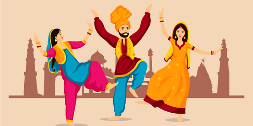 Bhangra dance workshop