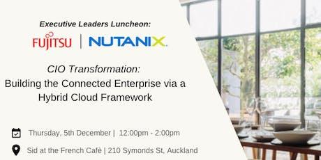 CIO Transformation: Building the Connected Enterprise via Hybrid Cloud tickets