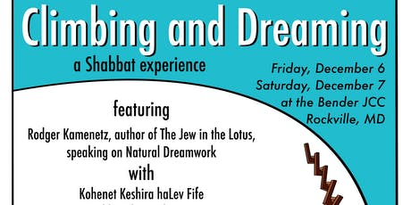 Dreaming and Climbing: A Shabbat In Town Retreat tickets